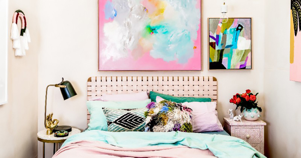Warm up your home with pink wall colour - Aliz\'s Wonderland