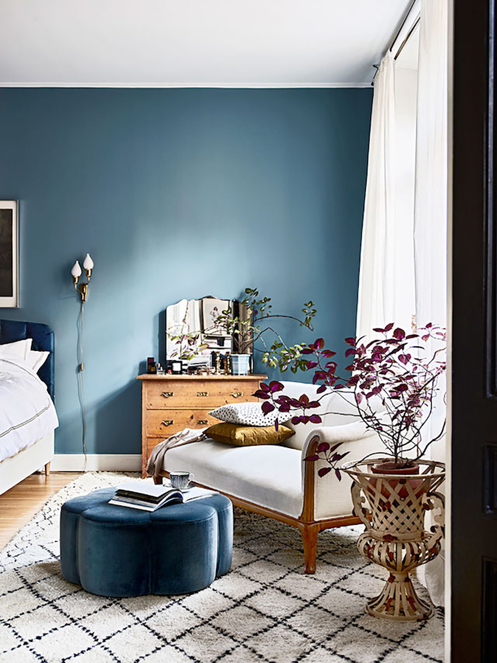 35 Ideas For Blue Wall Colour In Home Decoration Aliz S Wonderland